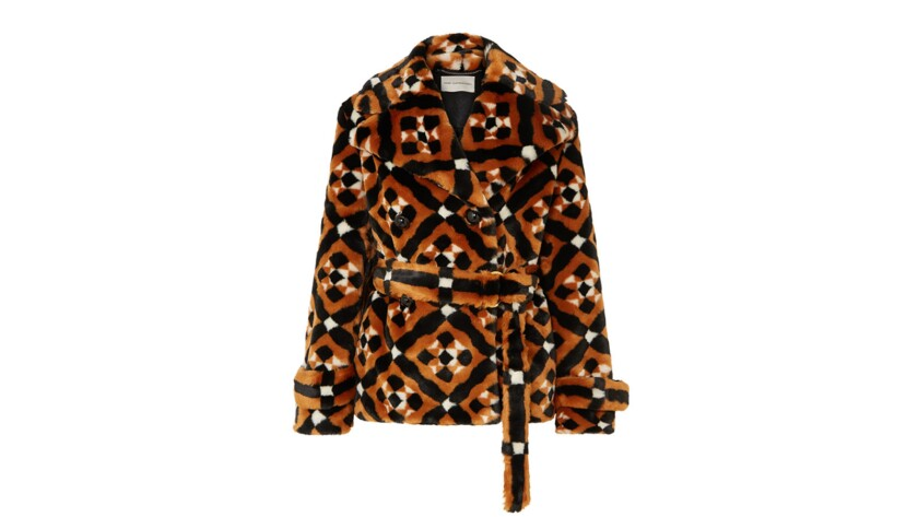 Mary KatrantzouFaux Fur coats for Image section essentials.