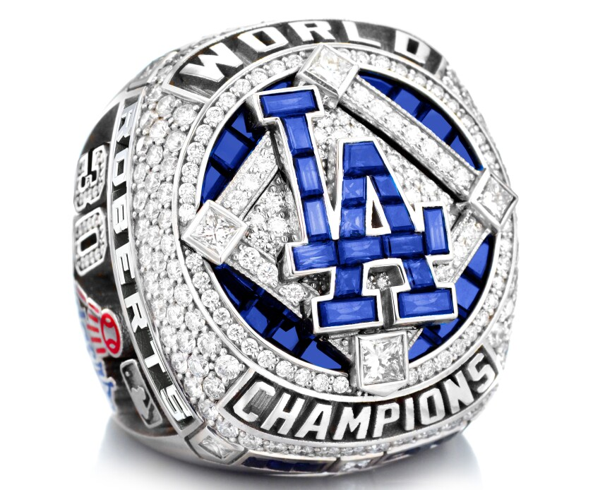 Dodgers 2020 World Series ring.