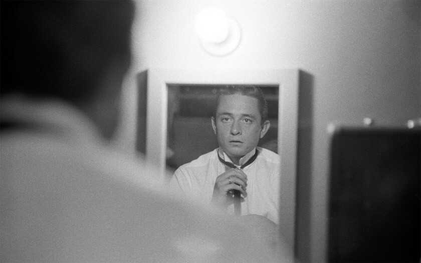 Johnny Cash in the documentary 'The Gift: The Journey of Johnny Cash'
