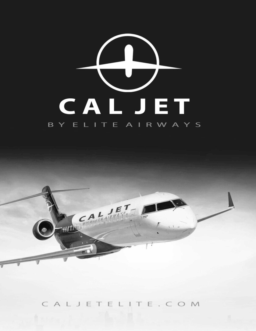 Cal Jet by Elite Airways will start flights from Carlsbad to Las Vegas in September 2017. (Courtesy photo)