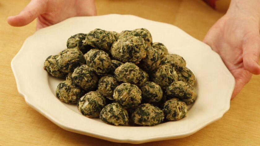 Johnny's spinach balls