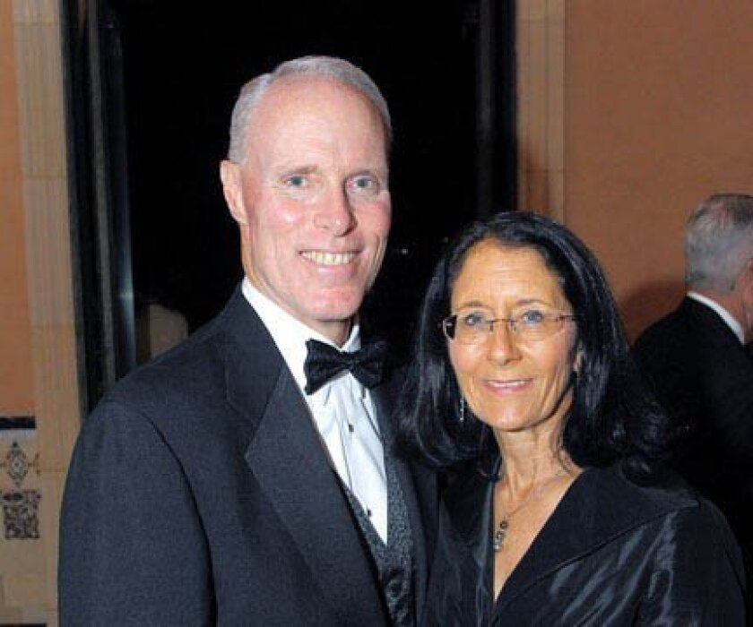 Chris Van Gorder, CEO of Scripps Health, and his wife, Rosemary