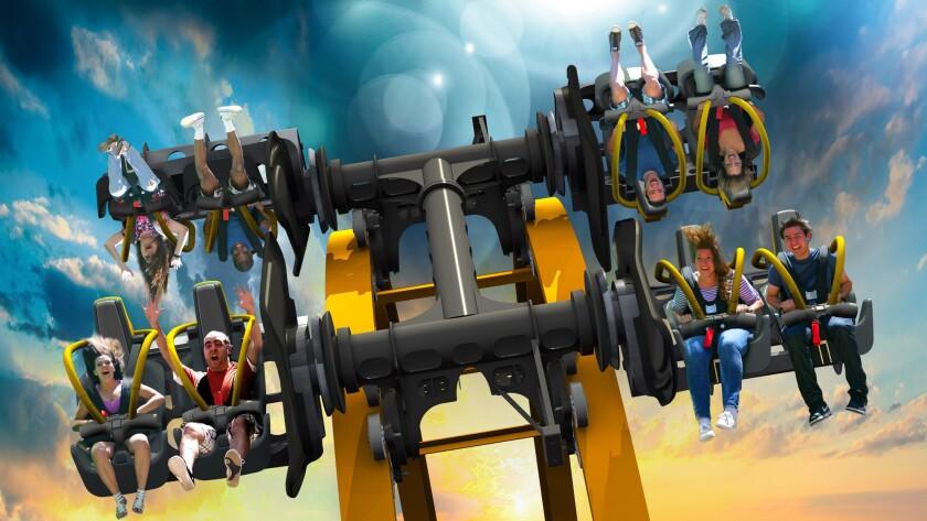 Joker 4-D coaster