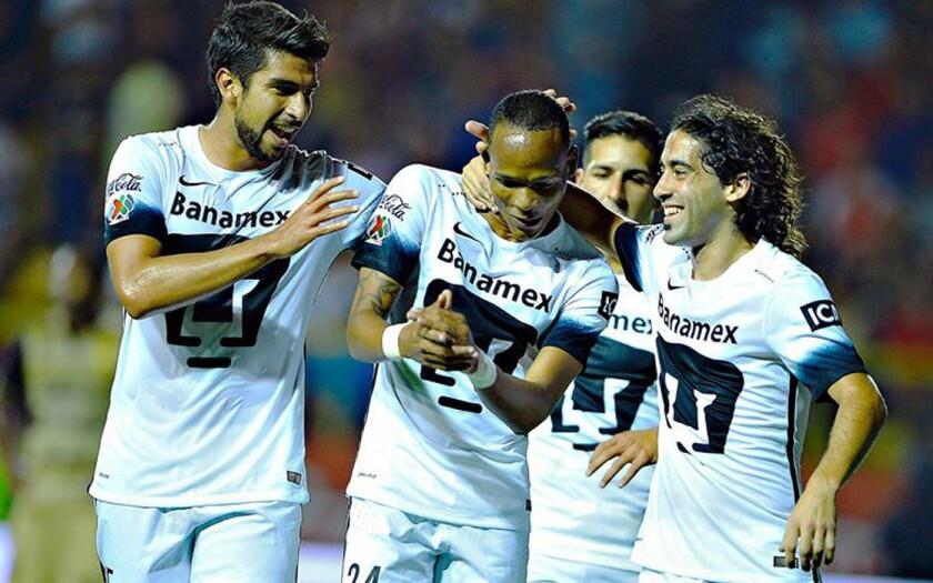 Los Pumas de la UNAM alistan el debut en la Libertadores.