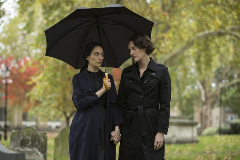 "Sian Clifford and Phoebe Waller-Bridge in ""Fleabag"" season 2."