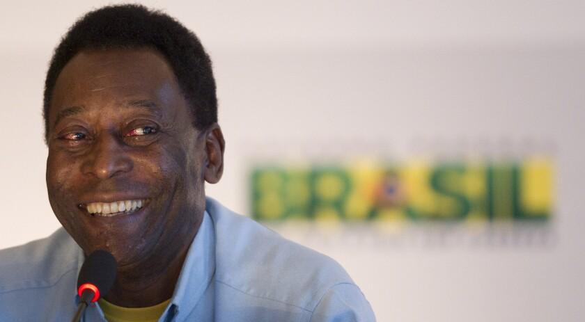 Edson Arantes do Nacimento 'Pelé'.