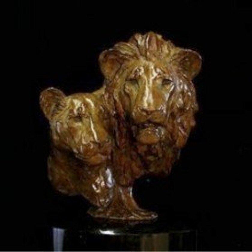 """Royalty""—  Bronze  by Melvin  Johansen"