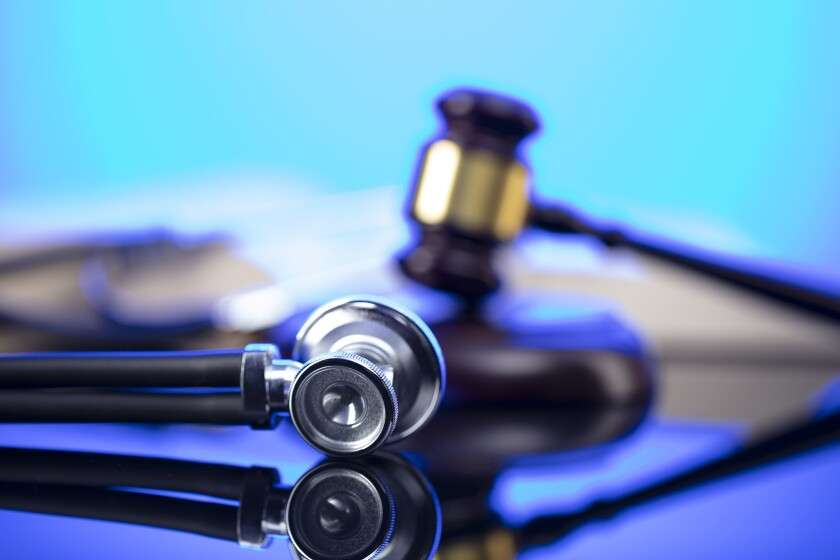 A stock photo of a doctor's stethoscope