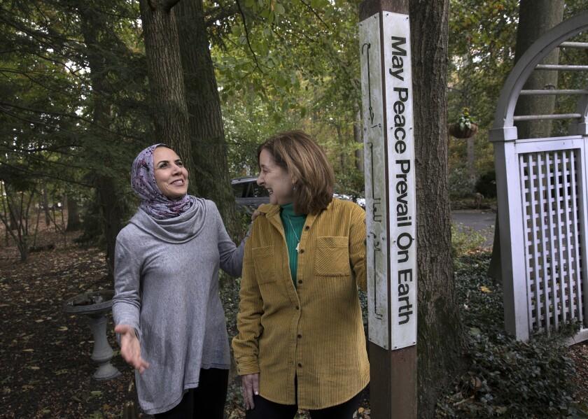 APTOPIX Religion-Muslim-Jewish Allies