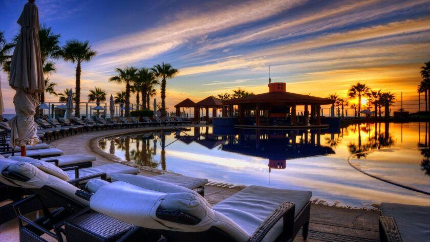 The pool at Pueblo Bonito Pacifica Golf and Spa Resort.