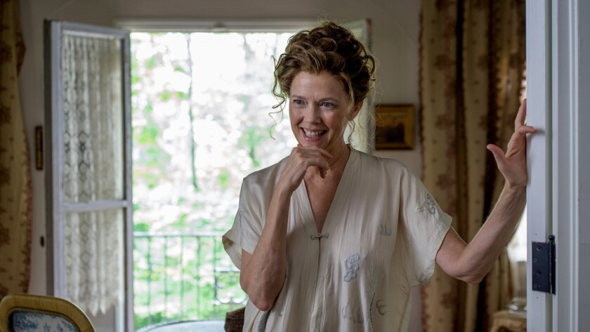 """Annette Bening in the movie """"The Seagull."""""""