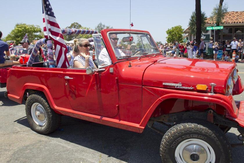 Josh Moss family in a 1969 Jeep Commando