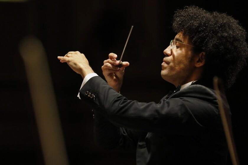San Diego Symphony Music Director Rafael Payare