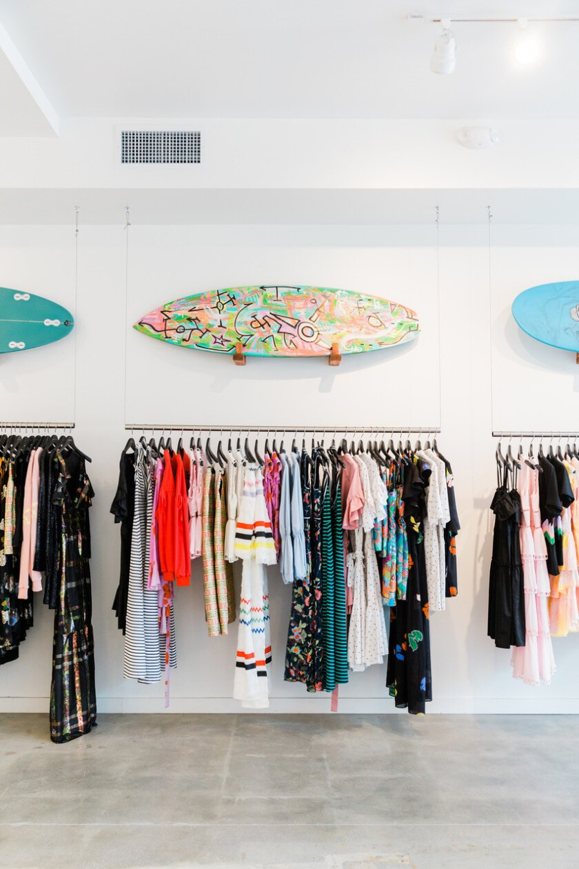 A selection of summer offerings from the Malibu pop-up.