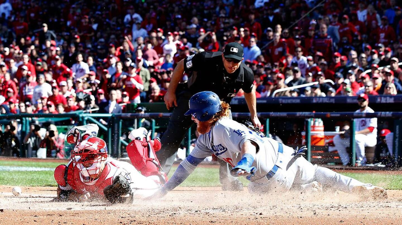 Juego 2: Dodgers 2-5 Nacionales