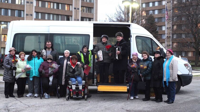 """""""Give Me Liberty,"""" an official selection of the NEXT program at the 2019 Sundance Film Festival, tells the story of the driver of a handicapped-transport van and his passengers, most of whom are Russian."""