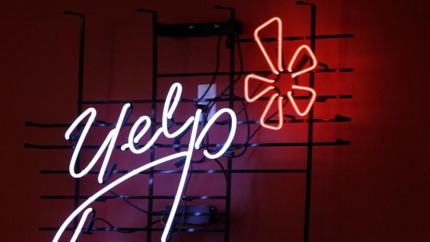 Yelp ha llevado un caso de difamación hasta la Corte Suprema de California.