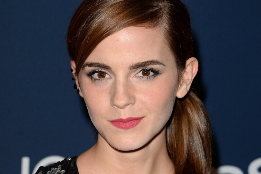 Actress-activist Emma Watson.