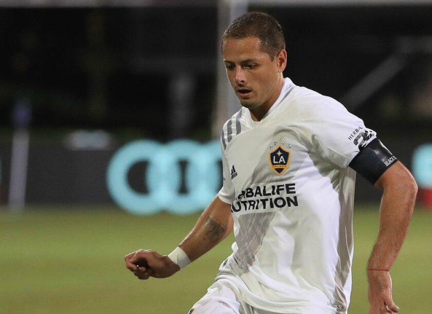 Javier Hernandez of the Galaxy.
