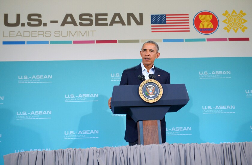 President Obama at summit