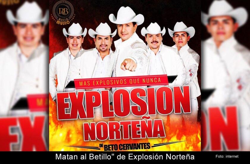 """Matan al """"Betillo"""" de Explosión Norteña"""