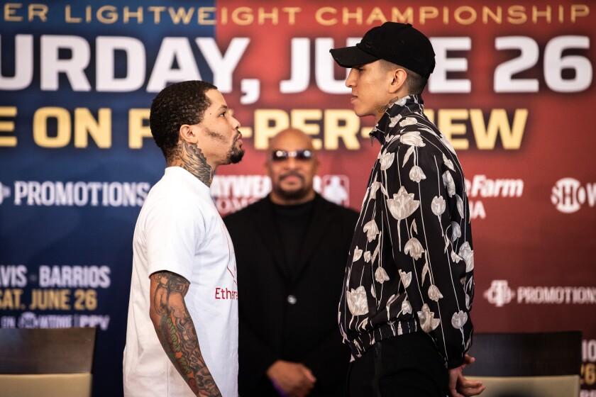 Mario Barrios: Es la pelea más importante de mi carrera, pero la presión la  tiene Gervonta Davis - Los Angeles Times