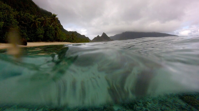 Ofu Beach, 2 miles long and usually empty, is a highlight of far-flung American Samoa.