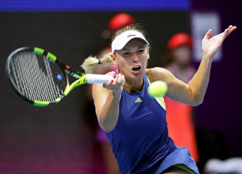 Caroline Wozniacki, tenista danesa. EFE/Archivo