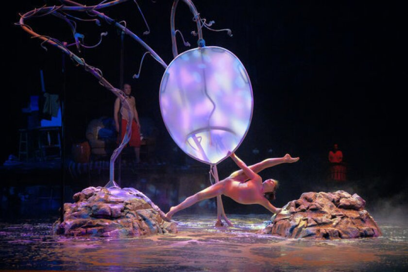 Las Vegas: Cirque performers turn their talents to a benefit show