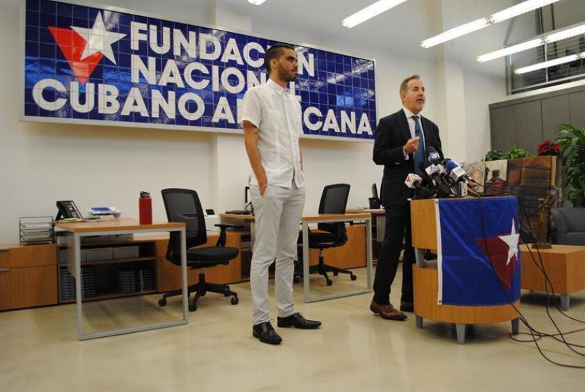 """La Fundación Nacional Cubano Americana (FNCA) agradeció hoy en Miami (EE.UU.) el trabajo de los cubanos que están trabajando por """"la conquista de nuestra libertad y derechos"""" en la isla en un mensaje de Navidad. EFE/ARCHIVO"""