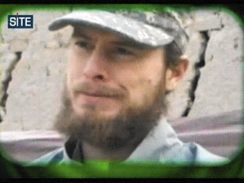 An image from video released in 2010 shows U.S. soldier Bowe Bergdahl, who said in part that the war in Afghanistan was not worth the number of lives lost.
