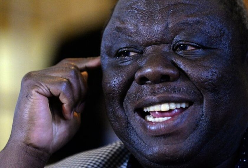 Zimbabwean Prime Minister Morgan Tsvangirai alleges vote-rigging