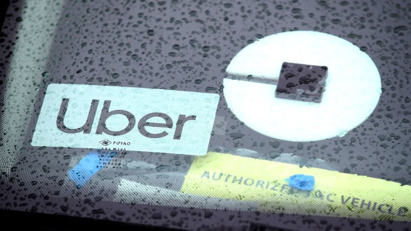 Ride Hailing App Uber Prepares For Its IPO On The New York Stock Exchange