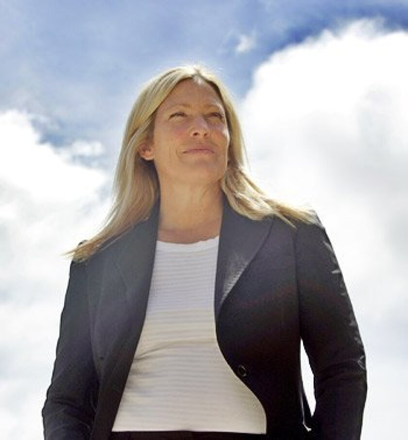 Lisa Bicker, president and CEO of CleanTECH San Diego, wants the region to be a hub for climate science.   (Crissy Pascual / U-T)