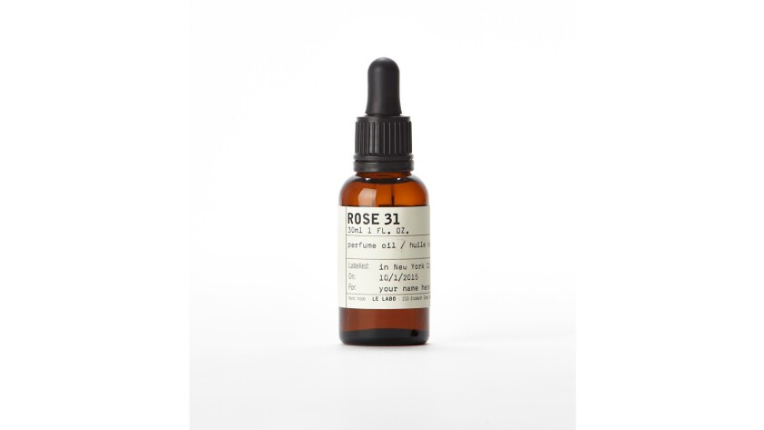 Le Labo Rose 31 Perfume Oil ($140, barneys.com)