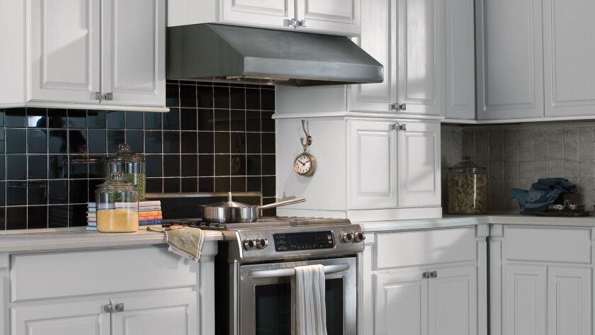 Every kitchen should have an efficient range hood, ideally vented to the outdoors. © Vent-A-Hood fro