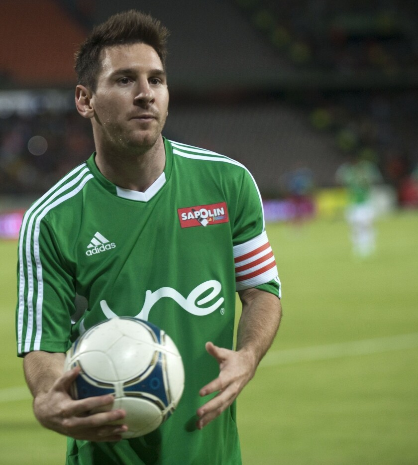 An upcoming event at the Coliseum featuring Argentine soccer star Lionel Messi was abruptly canceled Tuesday.