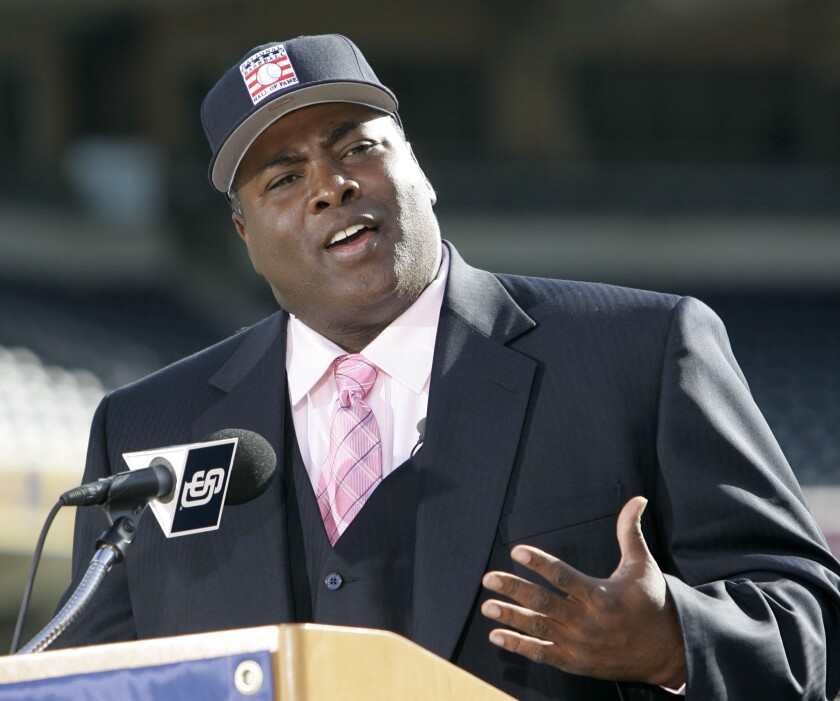 Former San Diego Padre Tony Gwynn talks about his election to the Baseball Hall Of Fame in 2007.