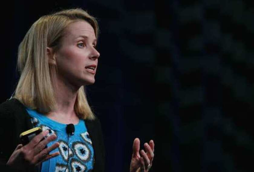 Yahoo released details of new CEO Marissa Mayer's pay package Thursday.