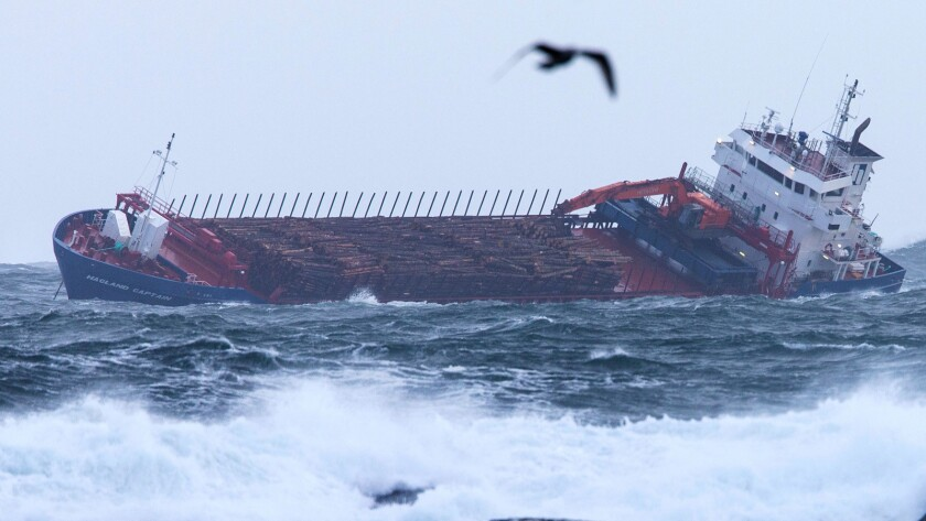 NORWAY-TRANSPORTATION-ACCIDENT-SEA