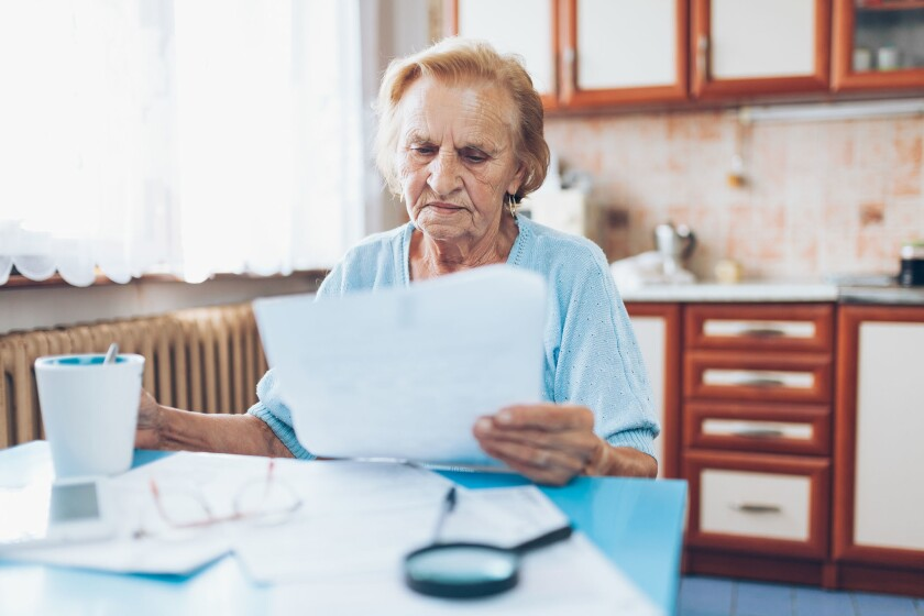 Elderly Americans are filing for bankruptcy at an alarming rate.