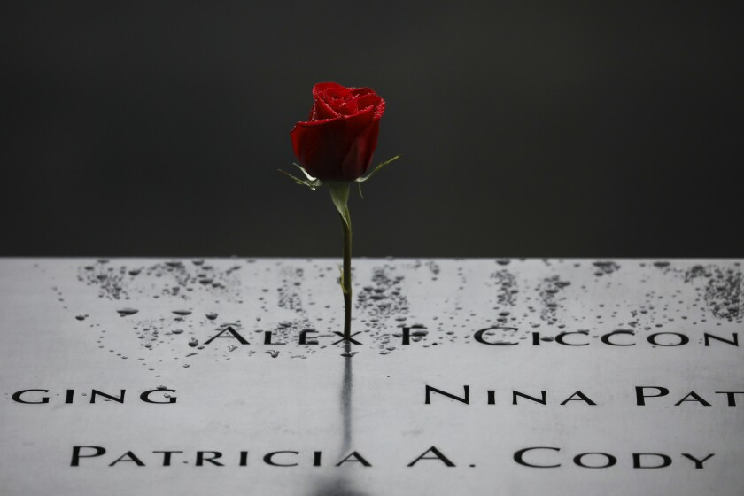 Anniversary Of September 11th Attacks On The U.S. Commemorated At World Trade Center Site