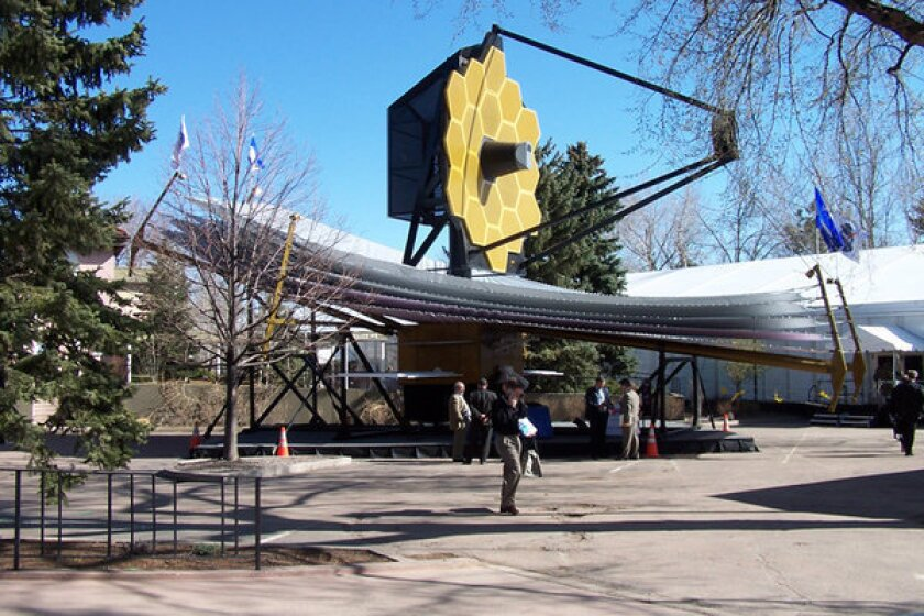 NASA James Webb Space Telescope model lands at South by Southwest