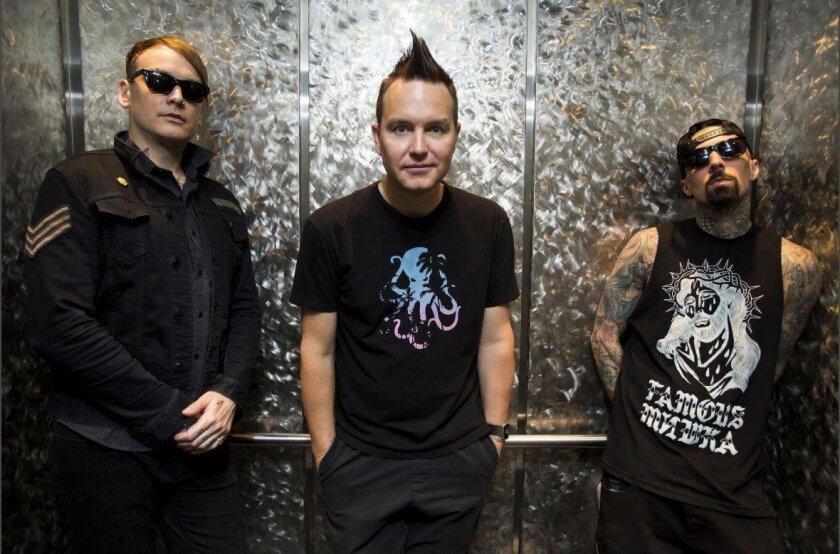 Blink-182. Courtesy photo