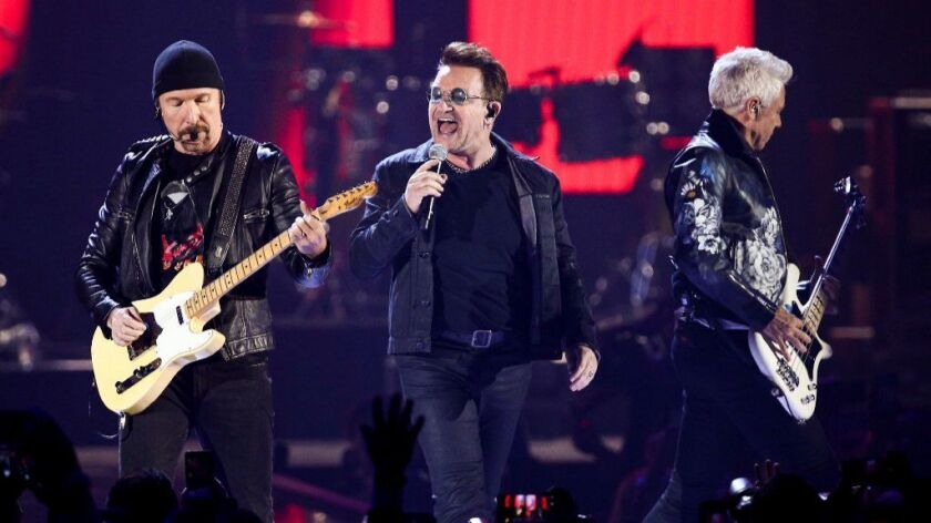 "U2 will celebrate the 30th anniversary of its 1987 album, 'The Joshua Tree,"" with a world tour."