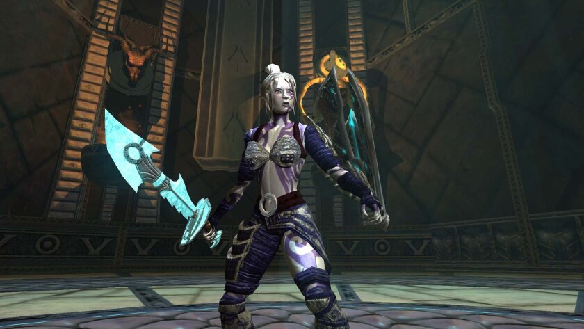 Sony Online Entertainment created the EverQuest video game franchise, including EverQuest II shown here.