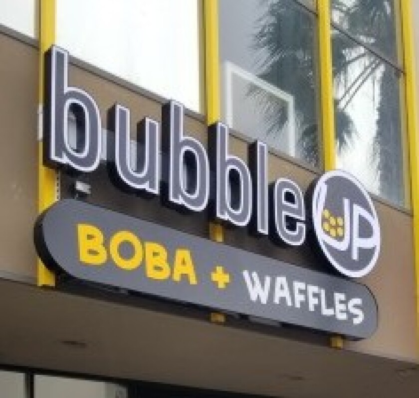 Bubble Up Boba + Waffles is coming to Garnet Avenue in Pacific Beach.