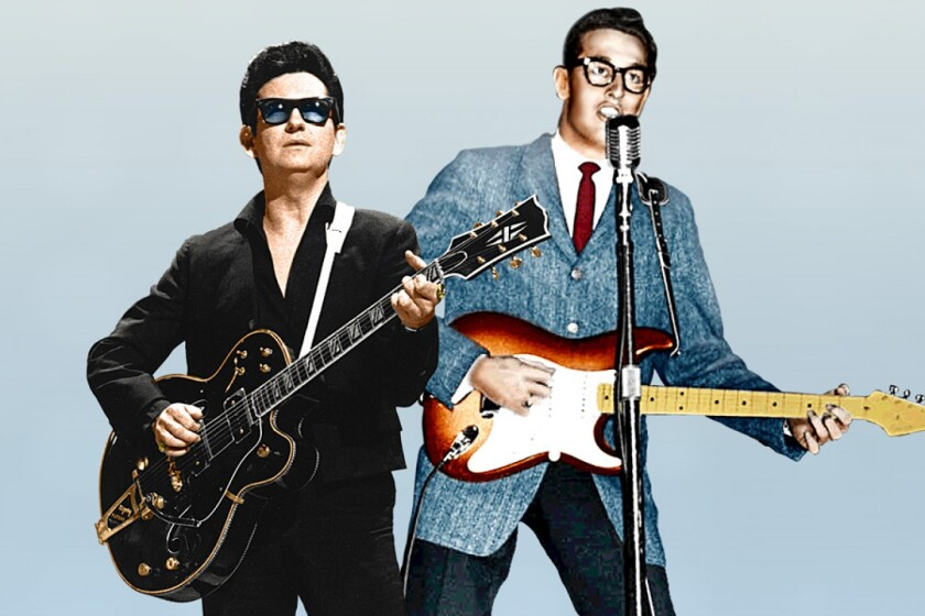 A photo of Roy Orbison & Buddy Holly