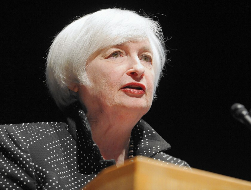 Critics of the Fed's easy-money policies say they had diminishing impact over time and subjected the nation to side effects that could lead to serious problems in the future. Above, Fed Chairwoman Janet L. Yellen.