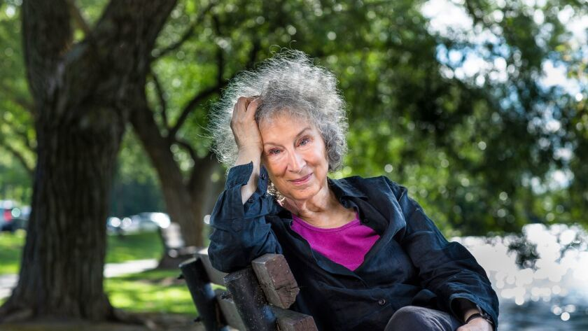 Author Margaret Atwood whose latest book is ANGEL CATBIRD volume 2. CREDIT: Liam Sharpe